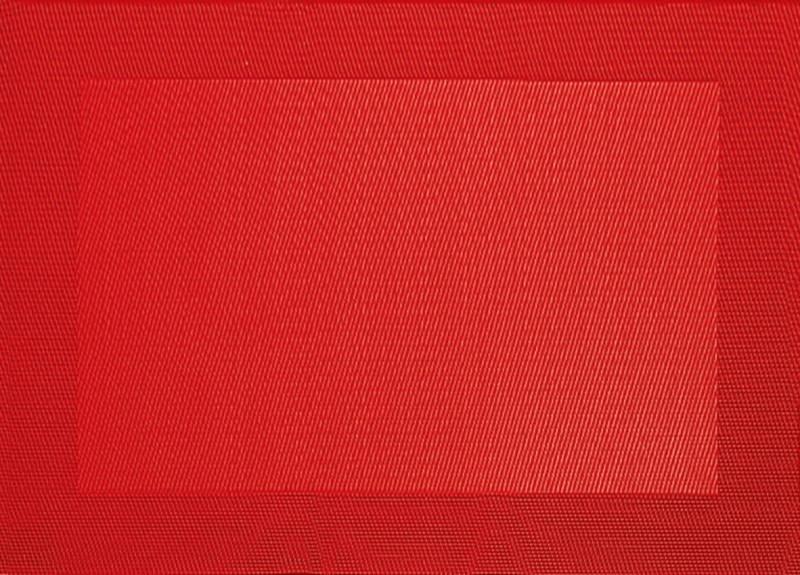 ASA Tischset rot 33 x 46 cm