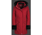 wellensteyn jacke darling rot