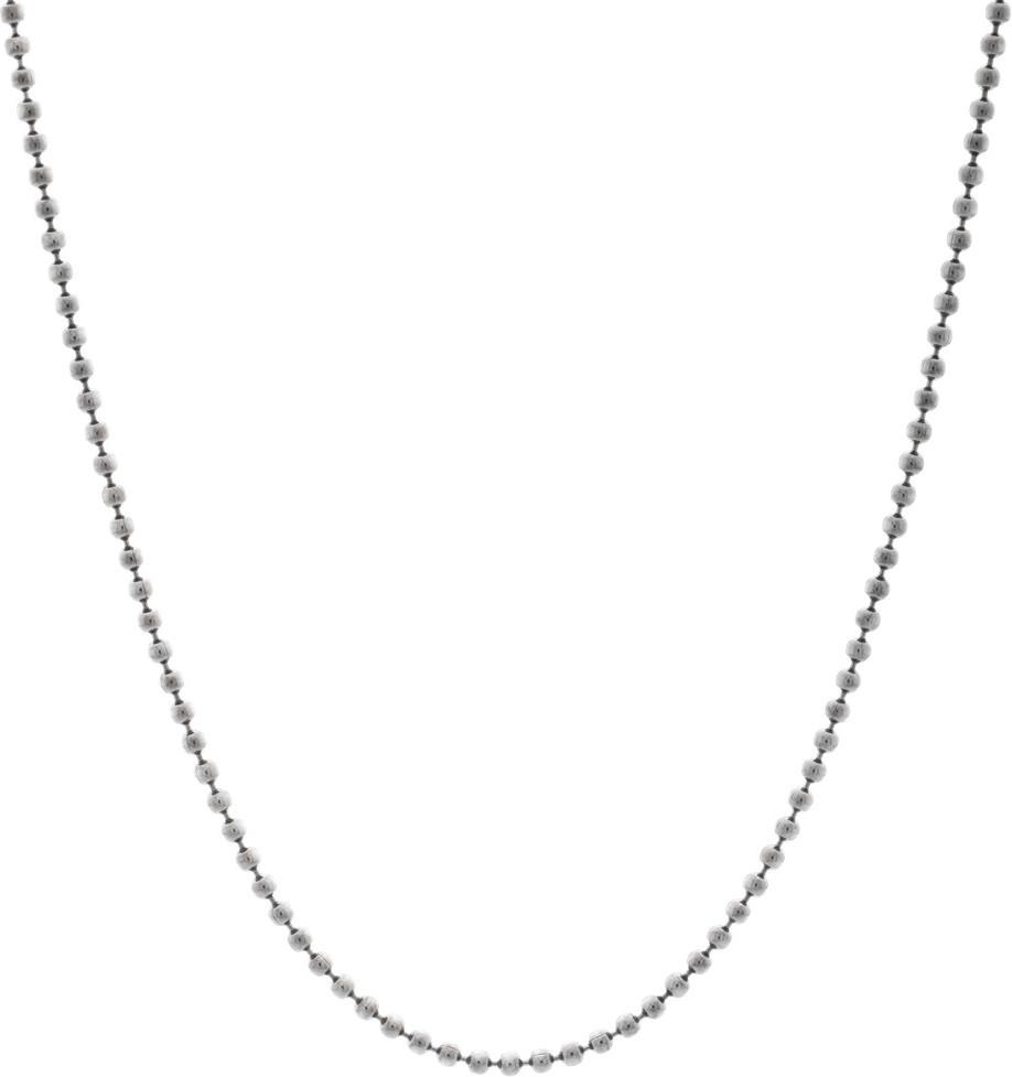 Heartbreaker Silberkugelkette schwarz (HB 180 BCB)