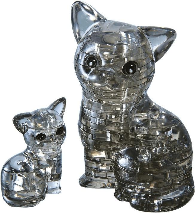 HCM Crystal - Katzenpaar (49 Teile)