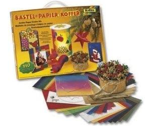 Bastelpapier Weihnachten.Folia Bastelpapier Koffer Herbst Weihnachten 110 Teilig Ab 7 59