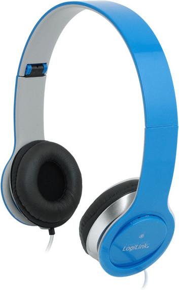 LogiLink Smile Headset (blau)