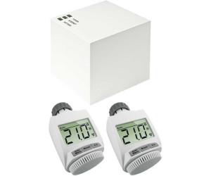 eq 3 max cube starterset 2 heizk rperthermostate ab 77 30 preisvergleich bei. Black Bedroom Furniture Sets. Home Design Ideas