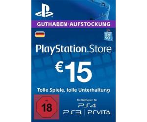 Playstation Karte Aufladen.Sony Playstation Store Guthaben Aufstockung 15 Euro