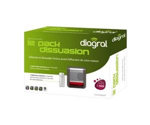 diagral le pack dissuasion au meilleur prix sur. Black Bedroom Furniture Sets. Home Design Ideas