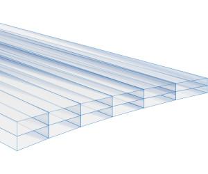 jawoll polycarbonat hohlkammerplatte 60 5 x 121 cm ab 10 99 preisvergleich bei. Black Bedroom Furniture Sets. Home Design Ideas