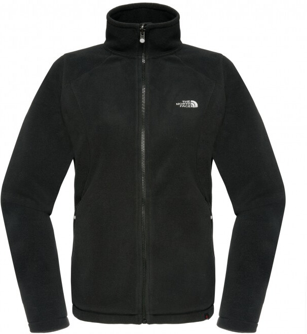 The North Face Women's 100 Glacier Jacket Tnf Black