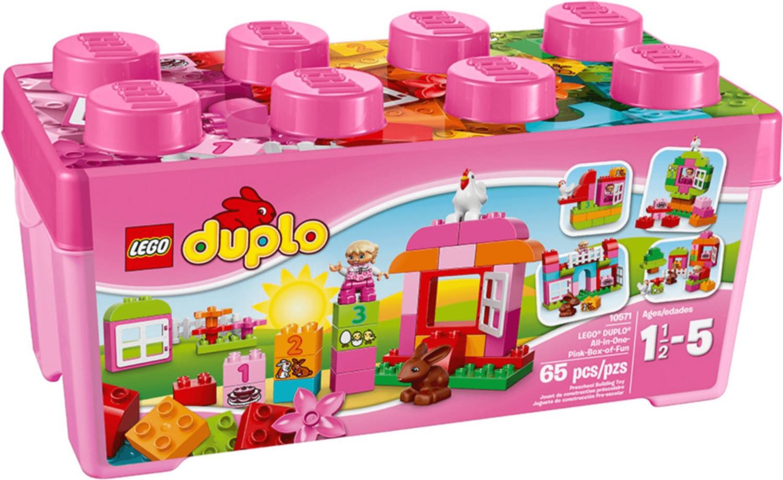 LEGO Duplo Große Steinebox Mädchen (10571)
