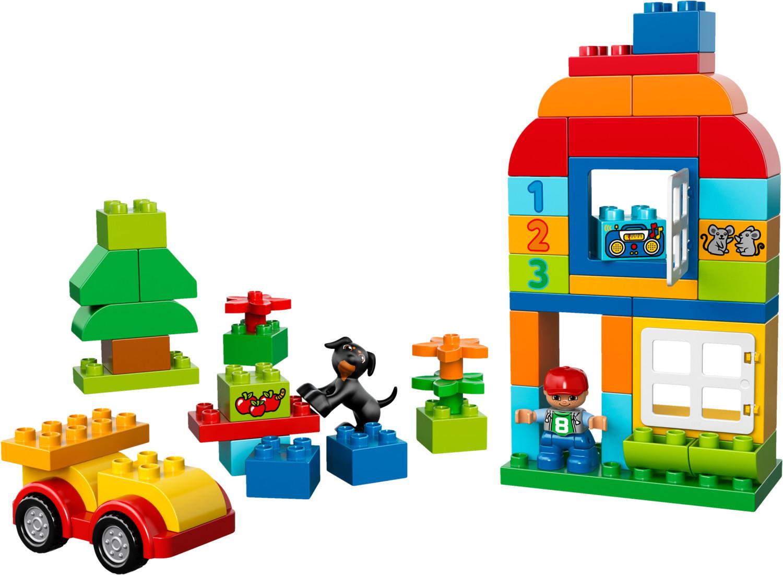 LEGO Duplo - Grande boîte du jardin en fleurs (10572)