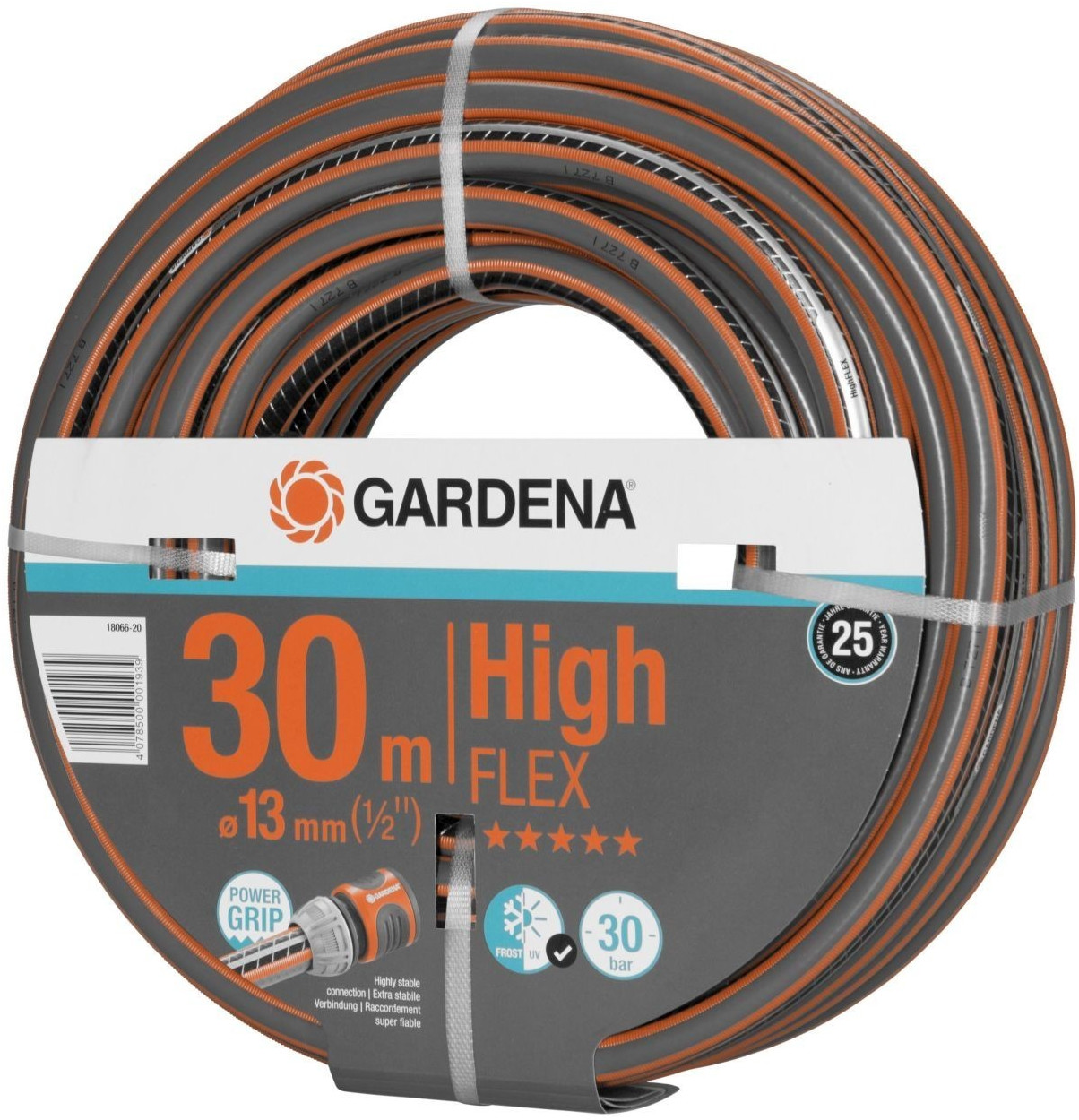 "Gardena PVC-Schlauch Comfort HighFlex 1/2"" - 30 m (18066-20)"