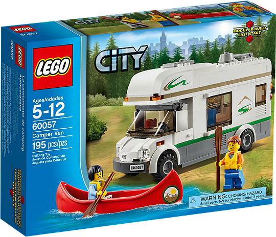 LEGO City - Wohnmobil mit Kanu (60057)