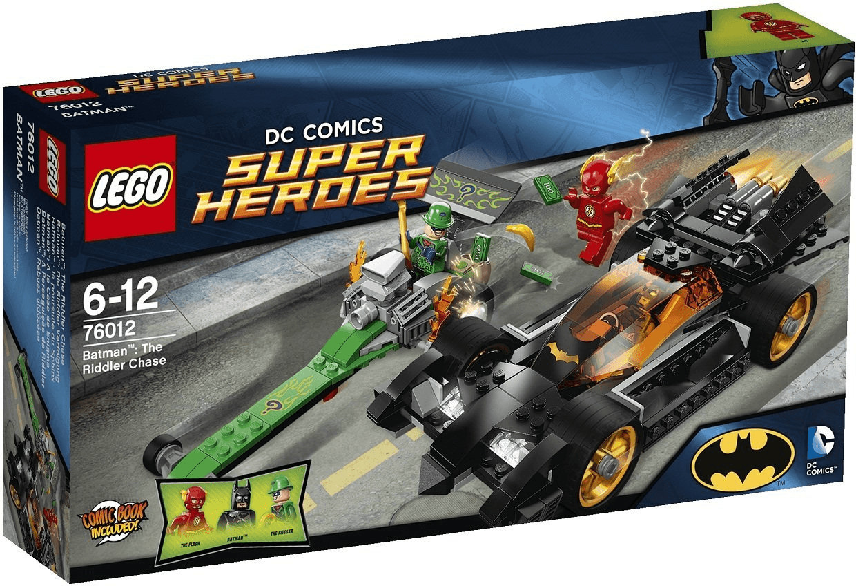 LEGO DC Comics Super Heroes 76012 BATMAN THE RIDDLER CHASE - Brand new