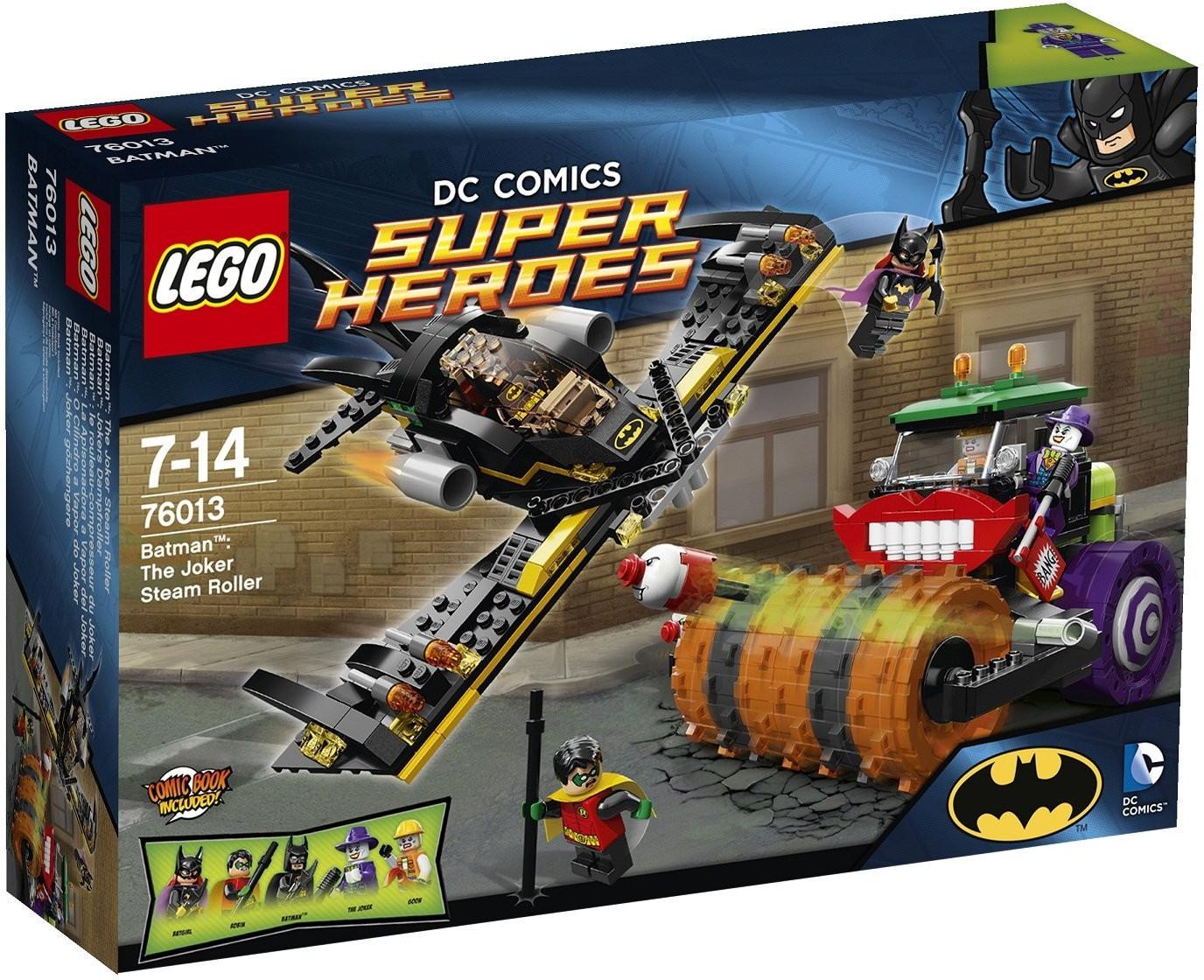 LEGO DC Comics Super Heroes - Batman: La aplanadora a vapor del Guasón (76013)