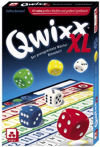 Nürnberger Spielkarten Qwixx XL