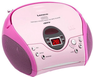Lenco SCD-24 MP3 pink