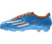 detailed look 3ca3c 11cdd Adidas F10 TRX FG J solar bluesolar zestrunning white