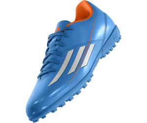 a0afea8f818d Adidas F5 TRX TF solar blue solar zest running white ab 41