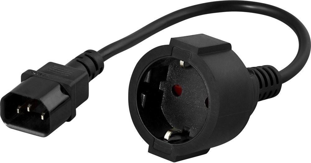 Image of BlueWalker PowerWalker IEC Schuko Converter (91015003)
