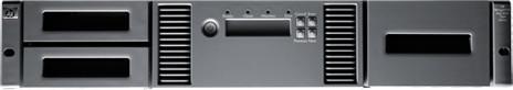 Hewlett-Packard HP MSL2024 1 LTO-5 Ultrium 3000...