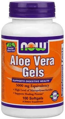 Now Foods Aloe Vera Softgels (100 pcs)