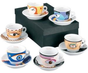 zeller keramik magic eyes espresso set 12 tlg ab 16 99 preisvergleich bei. Black Bedroom Furniture Sets. Home Design Ideas