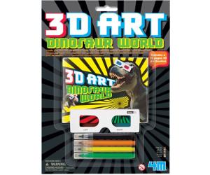 Image of 4M 3D Art Dinosaur world