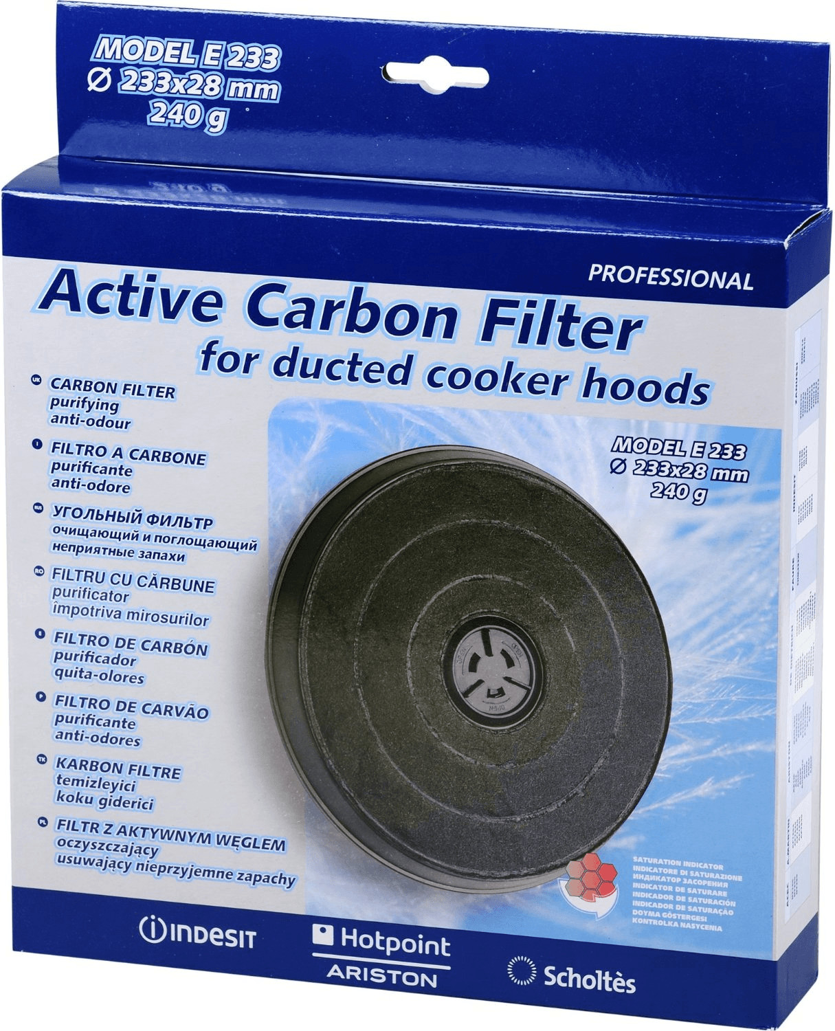Image of Hotpoint-Ariston Carbon Filter 4800090694