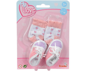 Simba New Born Baby Schuhe und Socken (60844)