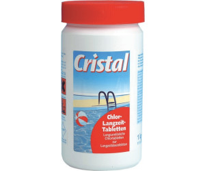 cristal chlortabletten langzeit 1 kg ab 7 48 preisvergleich bei. Black Bedroom Furniture Sets. Home Design Ideas