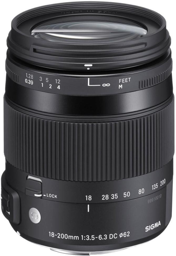 Sigma 18-200mm f3.5-6.3 DC Macro OS HSM C [Canon]