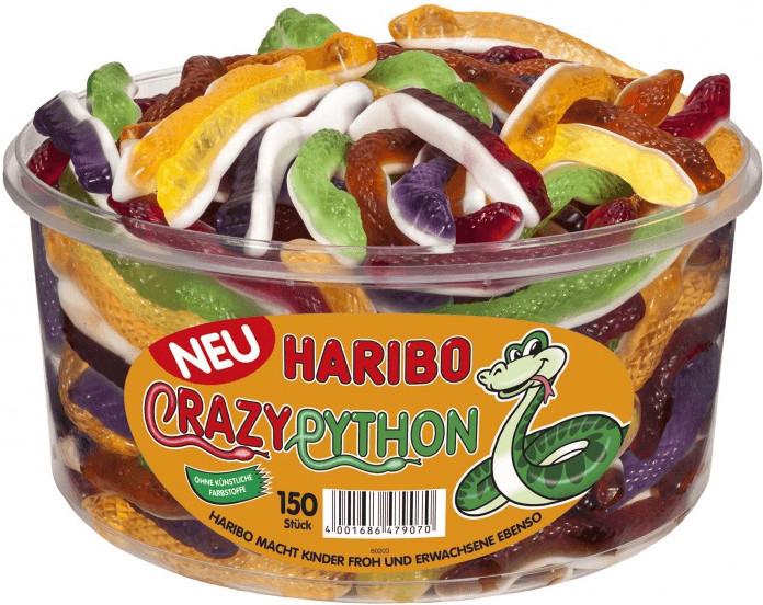 Haribo Crazy Python (150 Stk)