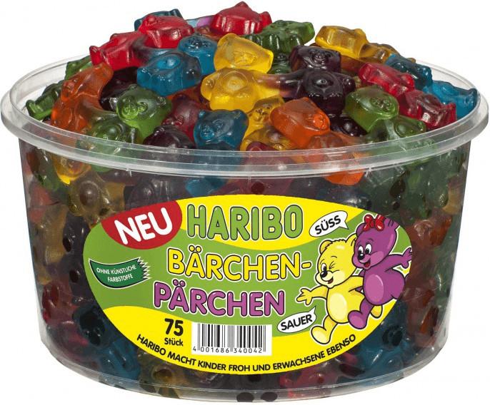 Haribo Bärchen-Pärchen (75 Stk)