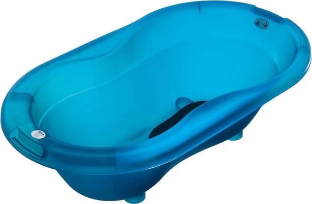 Rotho Top Baby Badewanne translucent blue