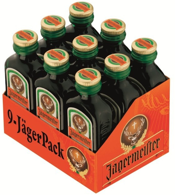 Jägermeister 9 x 0,02l 35%