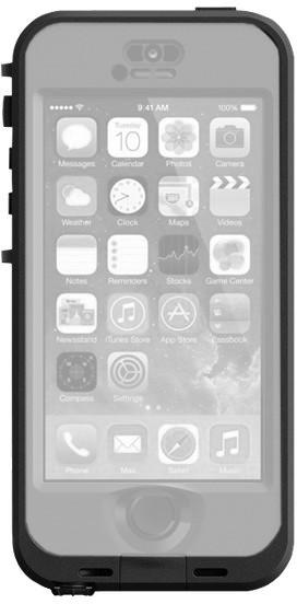 LifeProof Nüüd Case schwarz/smoke (iPhone 5/5S)