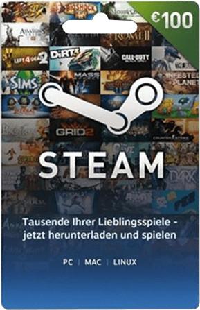 Valve Steam Guthaben