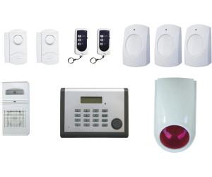 chacon kit alarme maison sans fil avec transmetteur t l phonique au meilleur prix sur. Black Bedroom Furniture Sets. Home Design Ideas