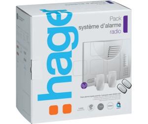 hager pack syst me d 39 alarme radio sk304 22f au meilleur prix sur. Black Bedroom Furniture Sets. Home Design Ideas