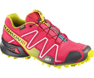 e5c58c4cfd02 womens salomon speed cross 3 yellow pink