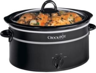 Image of Crock-Pot SCV655B Black 6.5L