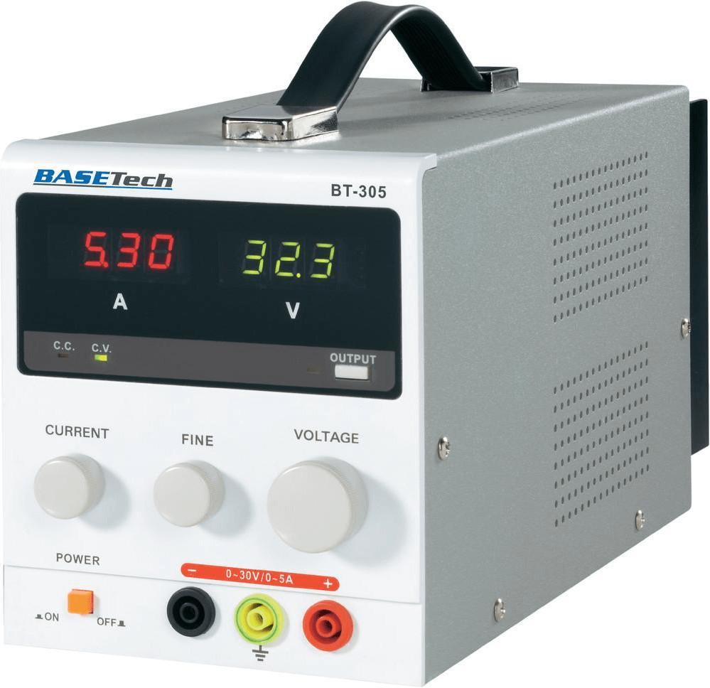 BASEtech Regelbares Labornetzgerät BT-305