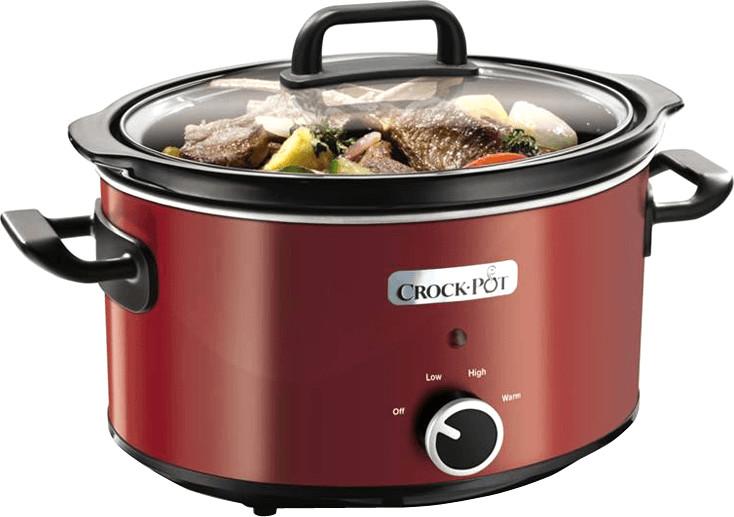 Image of Crock-Pot SCV400RD-060 New Designs Red 3.5L
