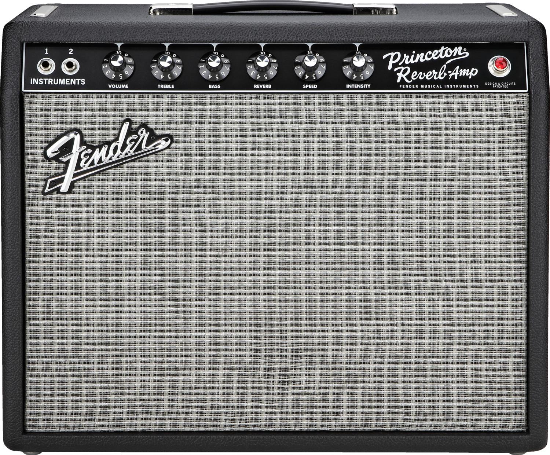 Image of Fender 65 Princeton Reverb Black