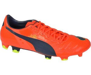 Puma Fußball-Schuhe Football evoPOWER 2 FG 2014 fluro peach-ombre blue-fluro yellow 6 (UK) mWwik