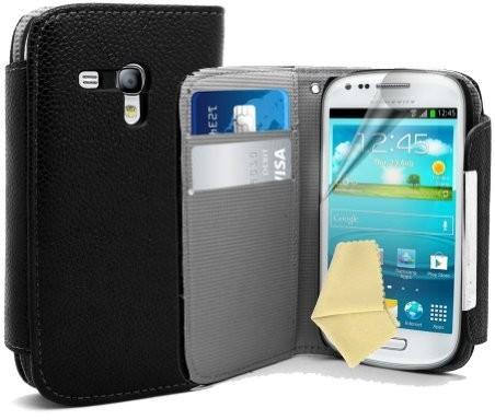 Image of Accessory Master Book Style Leather Case (Samsung Galaxy S3 Mini)