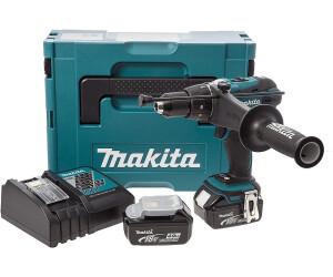 MAKITA DHP458ZJ Perceuse Visseuse /à percussion en Coffret Makpac 18 V 91 Nm