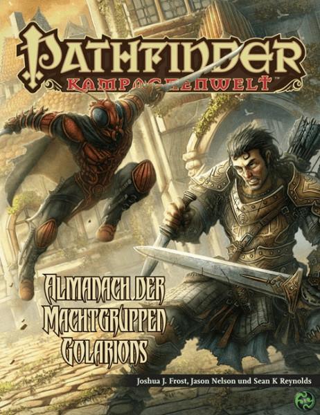 Ulisses Spiele Pathfinder Almanach der Machtgruppen Golarions