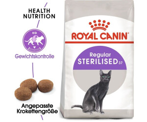 royal canin sterilised 37 12 kg au meilleur prix sur. Black Bedroom Furniture Sets. Home Design Ideas