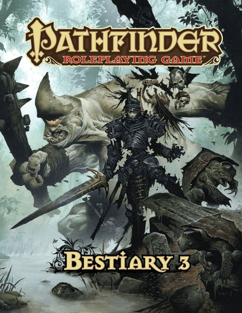 Paizo Pathfinder Roleplaying Game: Bestiary 3 (OGL) (englisch)