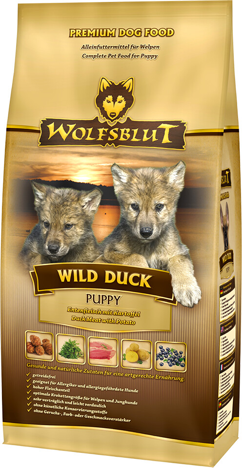 Wolfsblut Wild Duck Puppy (2 kg)